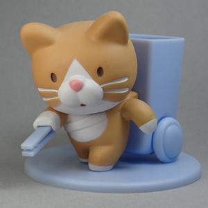 ようじ拾い猫(茶)