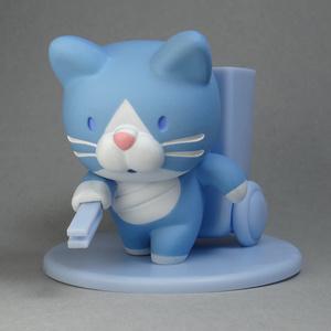 ようじ拾い猫(青)