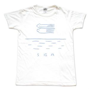 スケラッコTシャツ SEA