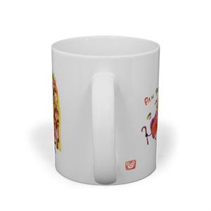 『いろいろ色んな パン日和』マグカップ
