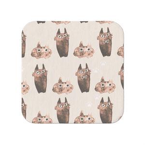 猫さんタオル