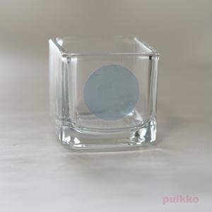 透明シール 丸シール30mm パステルカラー1