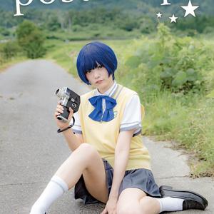 ★C90新刊【ビジュアル写真集】postscript,(あの夏/柑菜)