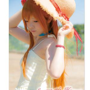 ★C92新作【写真集】summer side moment(エヴァ/アスカ)
