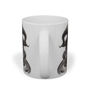 魔女マグカップ(monochrome)