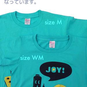 JOY! Tシャツ(アクア)