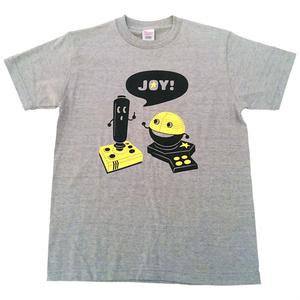JOY! Tシャツ(杢グレー)