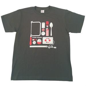 HYPER DOPING Tシャツ(チャコール)