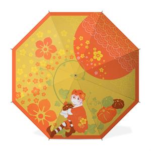 眼鏡のかぼちゃん 長傘