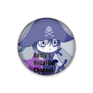 Betty's Vocaloid Channel ピンバッジ
