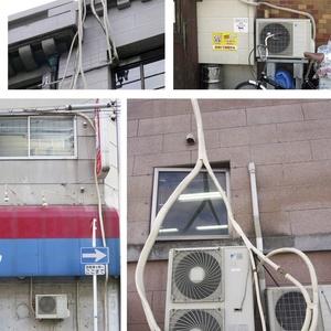 よくわかるエアコン配管観察