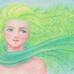 緑の風(150505)★手描き原画