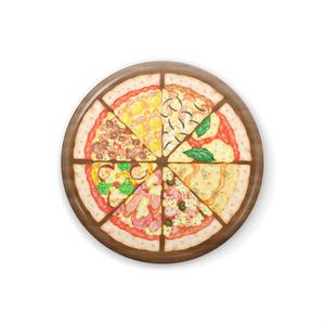 8種のピッツァの缶バッチ
