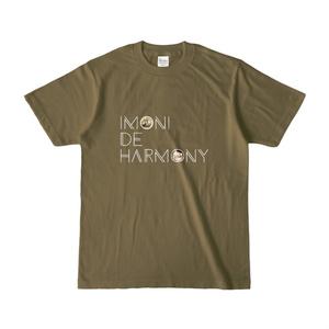 「芋煮 de ハーモニー」Tシャツ(オリーブ)