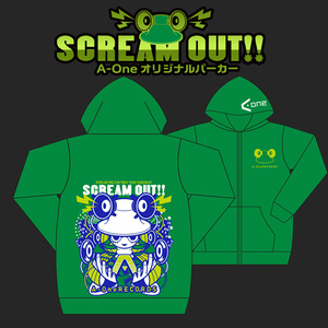 Scream out!パーカー