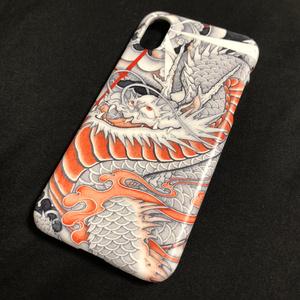 『台風龍』和柄iPhone ケース