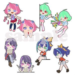 柚子シリーズ スケージュールシール