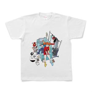 女の子のお部屋TシャツSサイズ