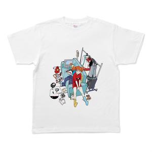 女の子のお部屋TシャツMサイズ