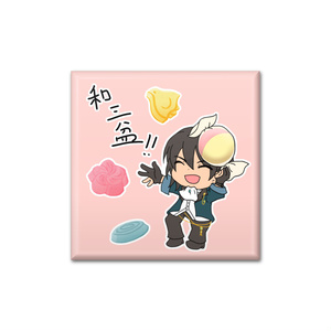 【文アル】菊池寛缶バッジ
