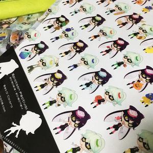 【匿名配送】スプラトゥーン クリアファイル