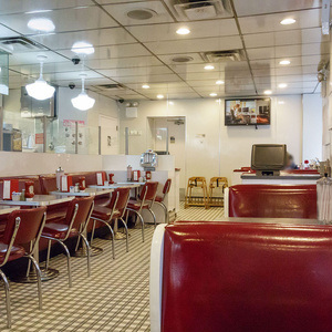 【無料】ニューヨークのハンバーガーショップA(45点)