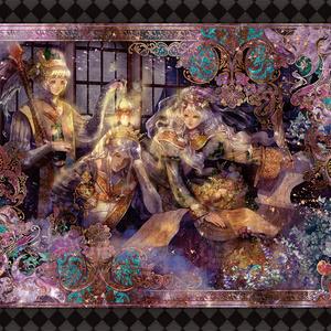 【ポストカード】王者の季節(4枚+1枚セット)