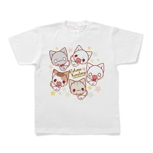 にゃんこいっぱいTシャツ