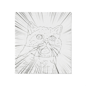 タオル『宇宙猫』