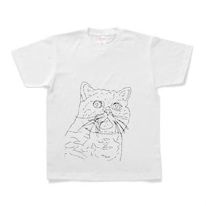 Tシャツ『宇宙猫』