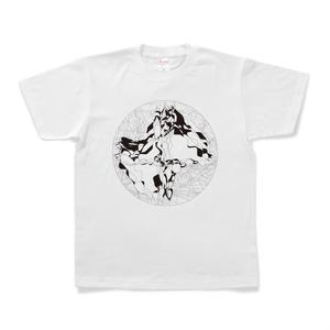 図形楽譜Tシャツ「ひとりの週末」