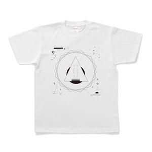 図形楽譜Tシャツ「その果て」