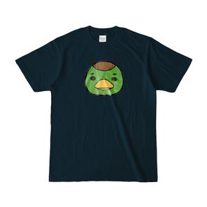 パチ7コミック ピノコTシャツ(編集部カモ原_ネイビー)