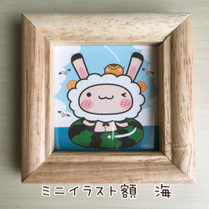 額入りミニイラスト ミミメリー(春~夏)