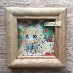 複製ミニ原画 アリスちゃん/ホットケーキちゃん/りんごちゃん