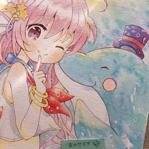 原画 セーラー人魚ちゃん
