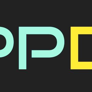 APPDATEパーカー(ミント×レモン)