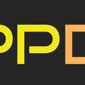 APPDATEパーカー(オレンジ×イエロー)