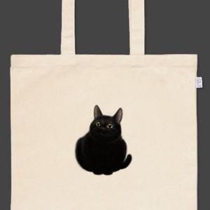黒猫トートバッグ