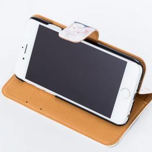 (改良版)ハシビロコウ 手帳型iPhoneケース iPhone5~8用