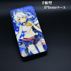 手帳型iPhoneケース「綾波」