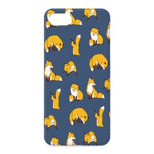 [Love Fox[紺]]iPhoneケース