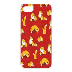 [Love Fox[朱]]iPhoneケース