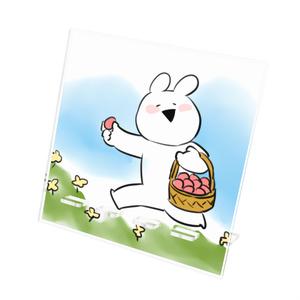 [すこぶる動くウサギ]アクリルスマホスタンド