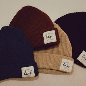 【新作】ふんわりニット帽◎使いやすい全4色
