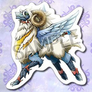 【通常配送】羊ドラゴンステッカー