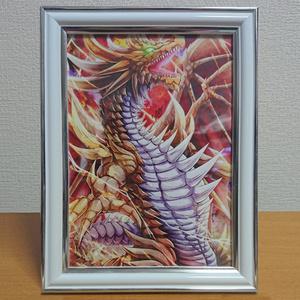 【あんしんBOOTHパック】額入りイラスト『覇王』