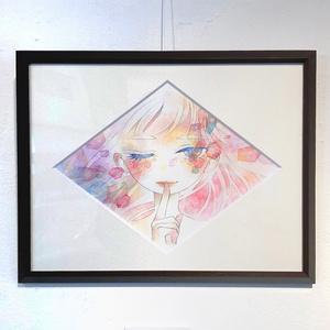 原画「彩のまたたき」