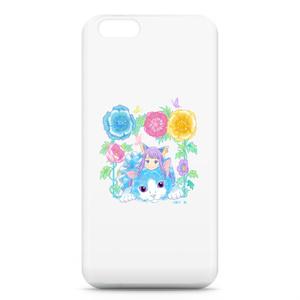 花と猫とアリス iphone6ケース