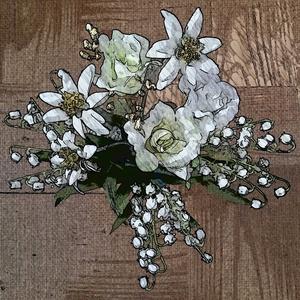 3種の花の紋章